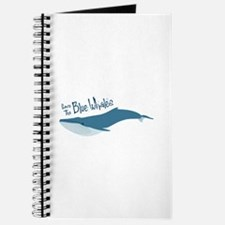 Save The Blue Whales Journal