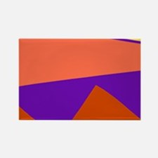 ABSTRACT ALLIGATOR Rectangle Magnet
