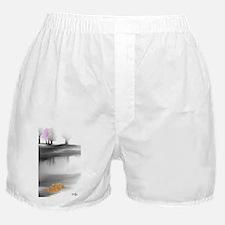 Pink Tree Boxer Shorts