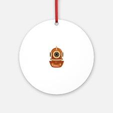 Dive Mask Ornament (Round)