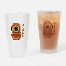 Diver Drinking Glass