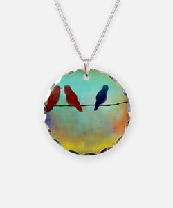 Threes a Crowd Necklace