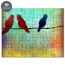 Threes a Crowd Puzzle