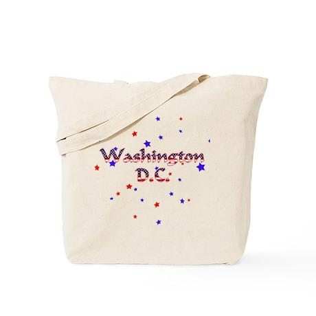 Washington DC Patriotic Tote Bag