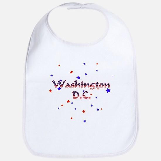Washington DC Patriotic Bib