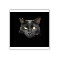 Dangerously Beautiful Black Cat 3&Quot; Lapel Stic