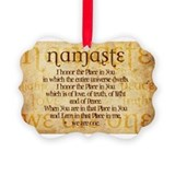 Yoga Picture Frame Ornaments
