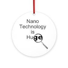 Nano Technology Ornament (Round)