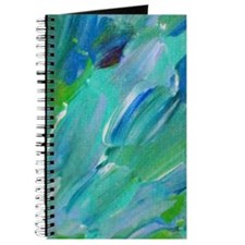Sea Scales - Ombre Teal Ocean Abstract Journal