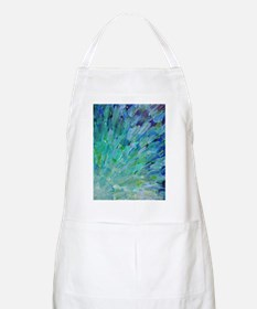 Sea Scales - Ombre Teal Ocean Abstract Apron
