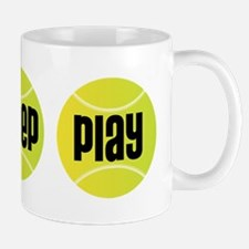 Eat Sleep Play Tennis Mug