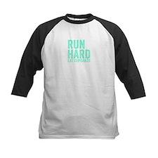 Run Hard Eat Cupcakes Baseball Jersey