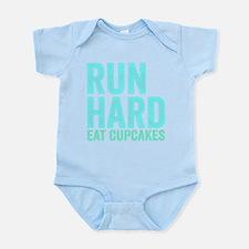 Run Hard Eat Cupcakes Body Suit
