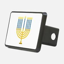 Hanukkah Menorah Hitch Cover