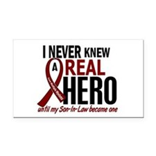 Multiple Myeloma Real Hero 2 Rectangle Car Magnet