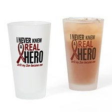 Multiple Myeloma Real Hero 2 Drinking Glass