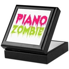 Piano Zombie Keepsake Box