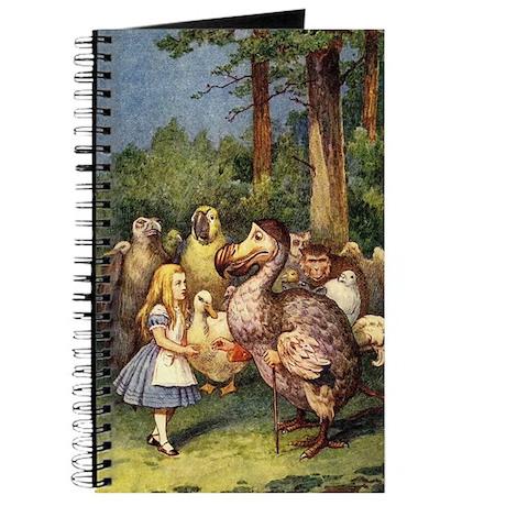 Alice With Dodo Journal