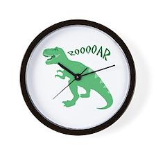 Rooooar Wall Clock