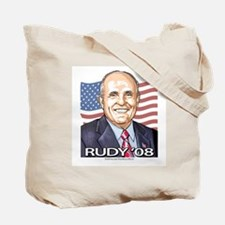 Mayor Rudy Portrait Tote Bag