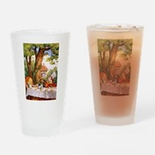 The Mad Tea Party Drinking Glass