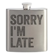 Sorry I'm Late Flask