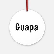 Guapa Ornament (Round)