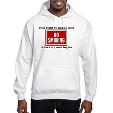 No Smoking Sign Hoodie