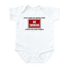 No Smoking Sign Infant Bodysuit
