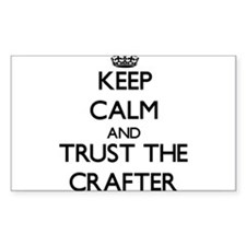 Keep Calm and Trust the Crafter Decal