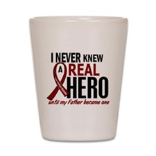 Multiple Myeloma Real Hero 2 Shot Glass