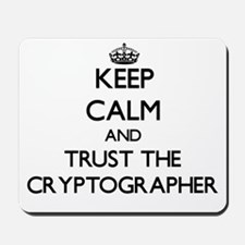 Keep Calm and Trust the Cryptographer Mousepad