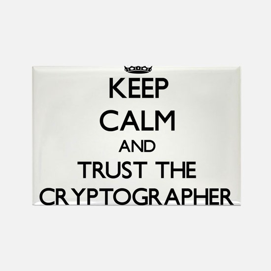 Keep Calm and Trust the Cryptographer Magnets