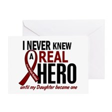 Multiple Myeloma Real Hero 2 Greeting Card
