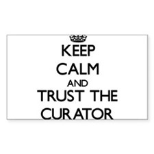 Keep Calm and Trust the Curator Decal