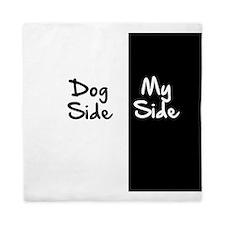 Dog Side, My Side Queen Duvet