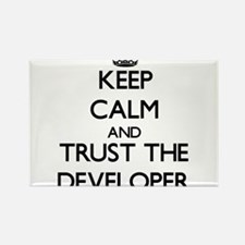 Keep Calm and Trust the Developer Magnets