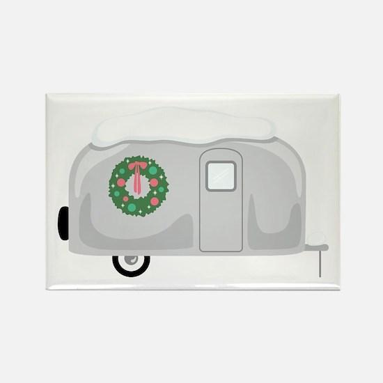 Christmas Trailer Magnets