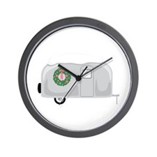 Christmas Trailer Wall Clock