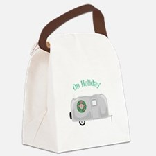 On Holiday Canvas Lunch Bag