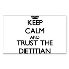 Keep Calm and Trust the Dietitian Decal