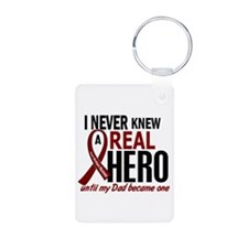 Multiple Myeloma Real Hero Aluminum Photo Keychain