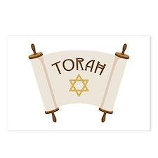 TORAH * Postcards (Package of 8)