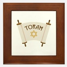 TORAH * Framed Tile