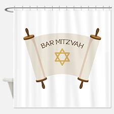 BAR MITZVAH Shower Curtain