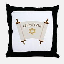 BAR MITZVAH Throw Pillow