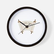 MAZEL TOV! Wall Clock