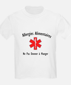 French Food Allergies T-Shirt
