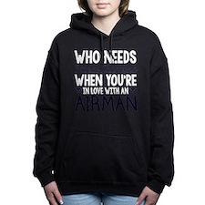 Who Needs Prince Charming Hooded Sweatshirt