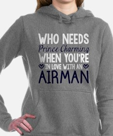 Who Needs Prince Charming Hooded Sweatshirt
